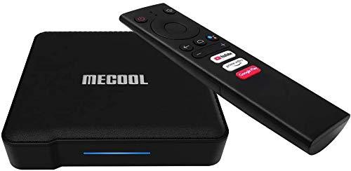 MECOOL ATV KM1 New S905X3 Google Certified 4K UHD Android TV Box 4G 64G 2.4G 5G WiFi Voice...