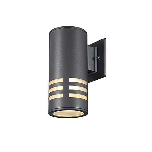 TENGXIN Outdoor Wall Sconce,Up/Down Porch Light,Stainless Steel 304 and Toughened...