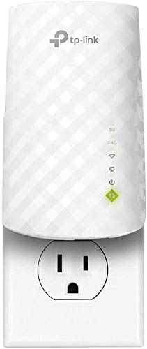 TP-Link AC750 WiFi Extender (RE220), Covers Up to 1200 Sq.ft and 20 Devices, Up to 750Mbps...