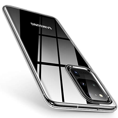 TORRAS Crystal Clear Designed for Samsung S20 Ultra Case Soft Silicone Drop Tested...