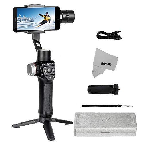 Freevision Vilta-M Pro 3-Axis Handheld Stabilizer Gimbal for iPhone, Samsung, Premium...