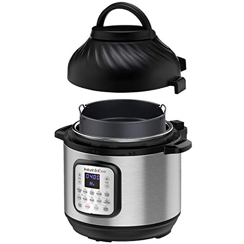 Instant Pot Duo Crisp Pressure Cooker 11 in 1, 8 Qt with Air Fryer, Roast, Bake, Dehydrate...