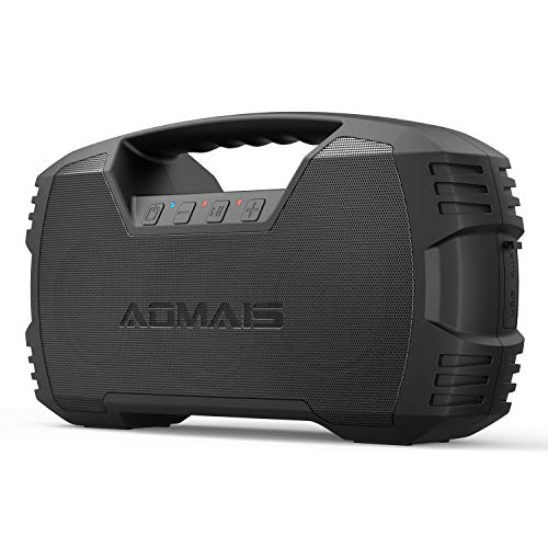 AOMAIS GO Bluetooth Speakers,Waterproof Portable Indoor/Outdoor 30W Wireless Stereo...
