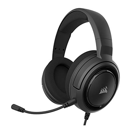 Corsair HS35 - Stereo Gaming Headset - Memory Foam Earcups - Works with PC, Mac, Xbox...
