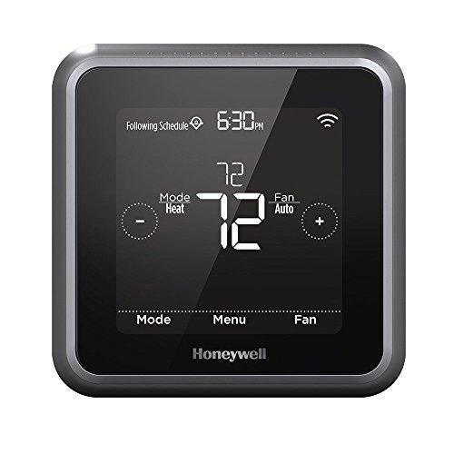 Honeywell Home RCHT8610WF2006/W T5 Wi-Fi Thermostat, Black