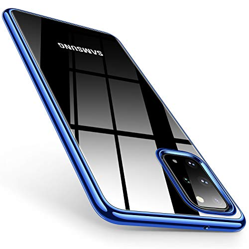 TORRAS Crystal Clear S20 Plus Case, Galaxy S20 Plus Case, Ultra Thin Slim Soft Shockproof...