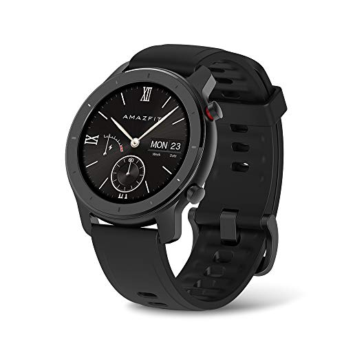 Amazfit GTR Smartwatch, All-Day Heart Rate Monitor, Daily Activity Tracking,...