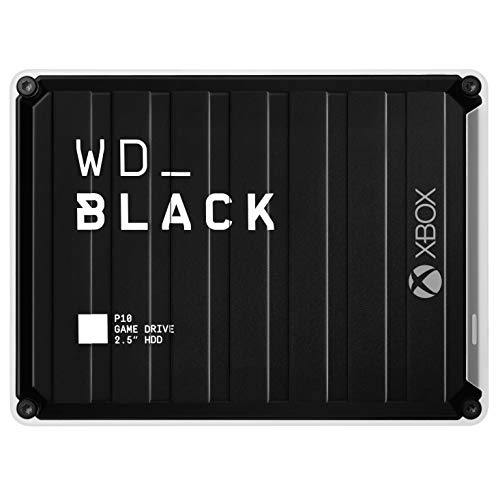WD_Black 3TB P10 Game Drive for Xbox One, Portable External Hard Drive HDD with 1-Month...