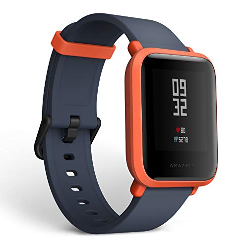 Amazfit BIP smartwatch by Huami with All-Day Heart Rate & Activity Tracking, Sleep...