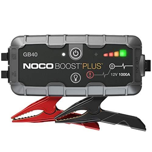 NOCO Boost Plus GB40 1000 Amp 12-Volt UltraSafe Portable Lithium Jump Starter Box, Car...