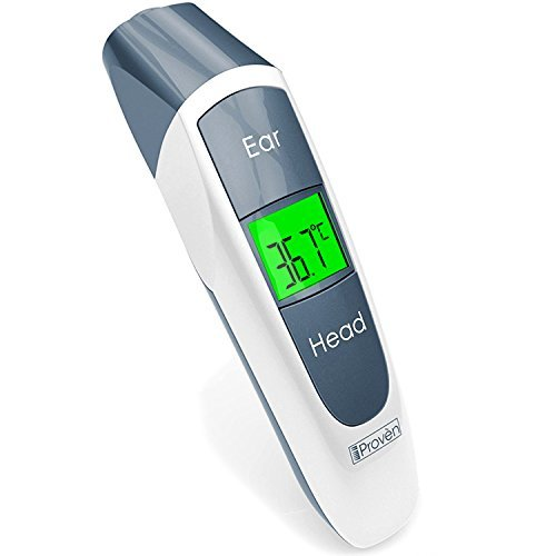 iProven Medical Ear Thermometer with Upgraded Lens Technology Suitable for Baby, Infant,...