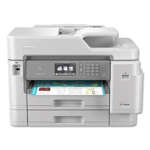 Brother Inkjet Printer, MFC-J5945DW, INKvestmentTank Color Inkjet All-in-One Printer with...