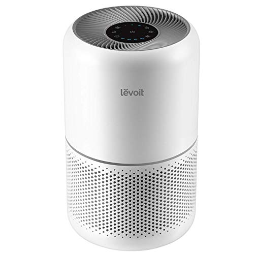 LEVOIT Air Purifier for Home Allergies Pets Hair in Bedroom, H13 True HEPA Filter, 24db...