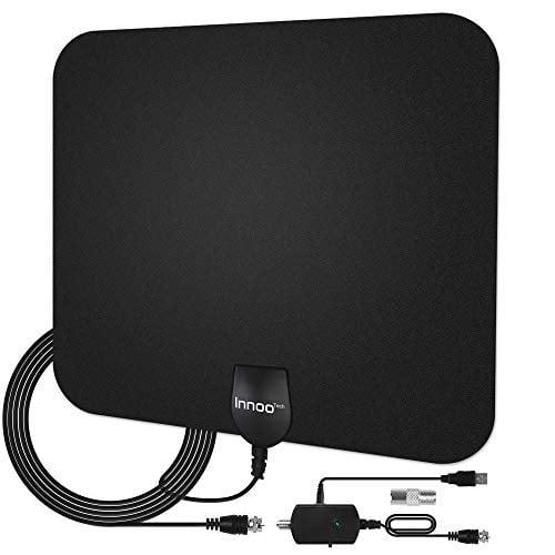 Innoo Tech TV Antenna - HDTV Antenna Support 4K 1080P, 30-120 Miles Range Digital Antenna...