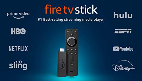 Fire TV Stick streaming media player with Alexa built in, includes Alexa Voice Remote, HD,...