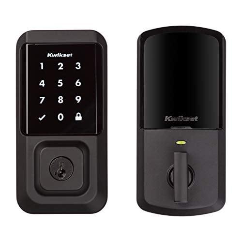 Kwikset 99390-004 Halo Wi-Fi Smart Lock Keyless Entry Electronic Touchscreen...
