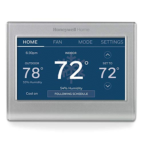 Honeywell Home RTH9585WF1004 Wi-Fi Smart Color Thermostat, 7 Day Programmable, Touch...