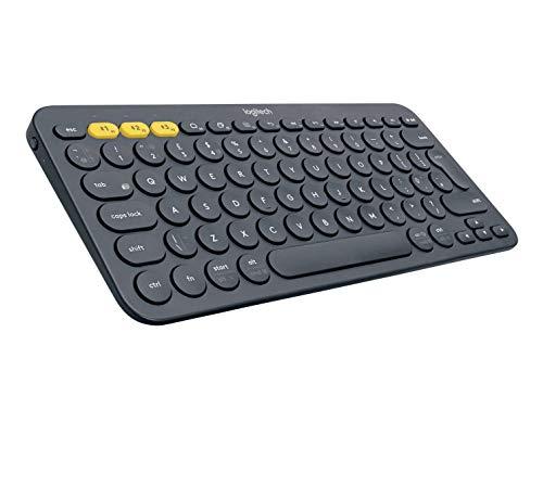 Logitech K380 Multi-Device Bluetooth Keyboard – Windows, Mac, Chrome OS, Android, iPad,...
