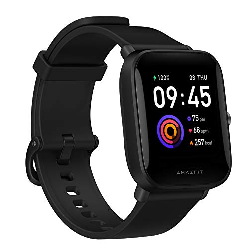 Amazfit Bip U Smart Watch Fitness Tracker for Men Women with 60+ Sports Modes, 9-Day...