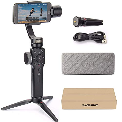 Zhiyun Smooth 4 3-Axis Handheld Gimbal Stabilizer YouTube Video Vlog Tripod for iPhone 11...