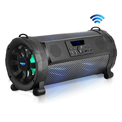 Pyle Bluetooth Boombox Street Blaster Stereo Speaker - Portable Wireless Power...