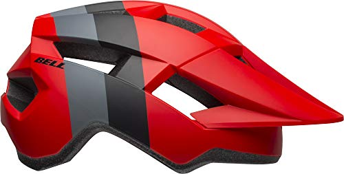 Bell Spark Jr. MIPS Youth Bike Helmet (Downdraft Matte Crimson/Black (2019), One Size)