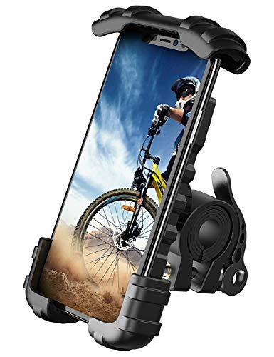 Bike Phone Holder, Motorcycle Phone Mount - Lamicall Motorcycle Handlebar Cell Phone...