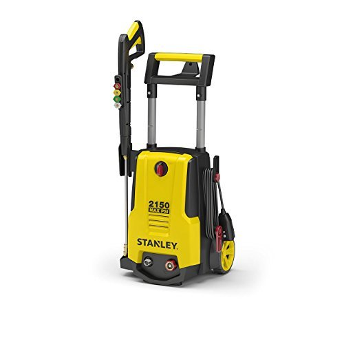 Stanley SHP2150 Electric Pressure Washer with Spray Gun, Quick Connect Nozzles Foam...