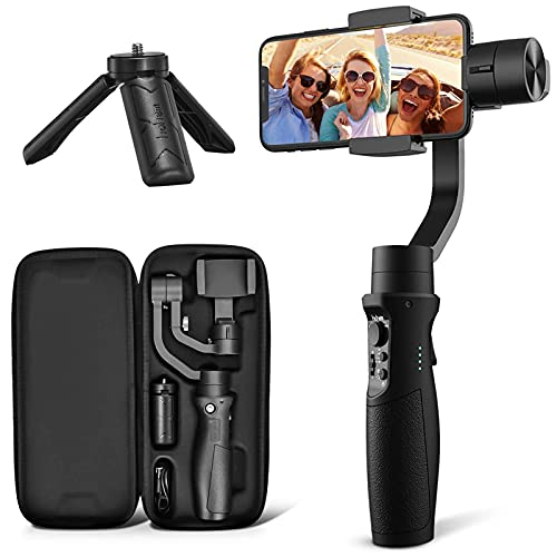 3-Axis Gimbal Stabilizer for iPhone 12 11 PRO MAX X XR XS Smartphone Vlog Youtuber Live...