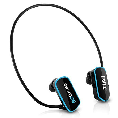 Pyle Upgraded Waterproof MP3 Player - V2 Flextreme Sports Wearable Headset Music Player...