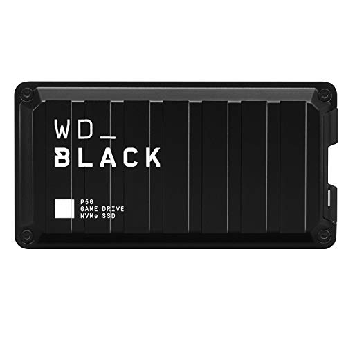 WD_BLACK 2TB P10 Game Drive, Portable External Hard Drive HDD, Compatible with...