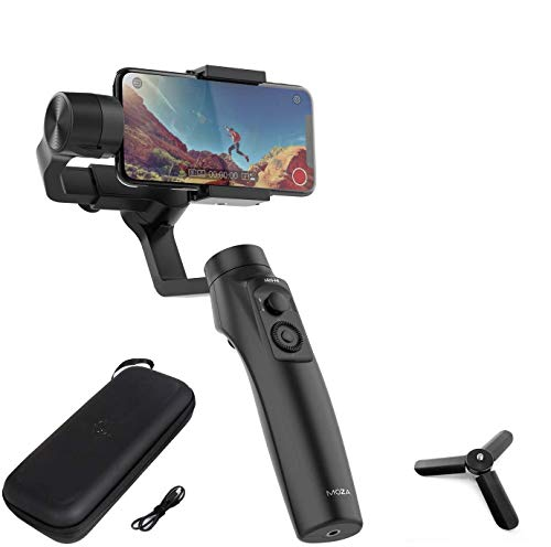 MOZA Mini-MI 3-Axis Gimbal stabilizer for Smartphone iPhone Vlog Youtuber Live Video...