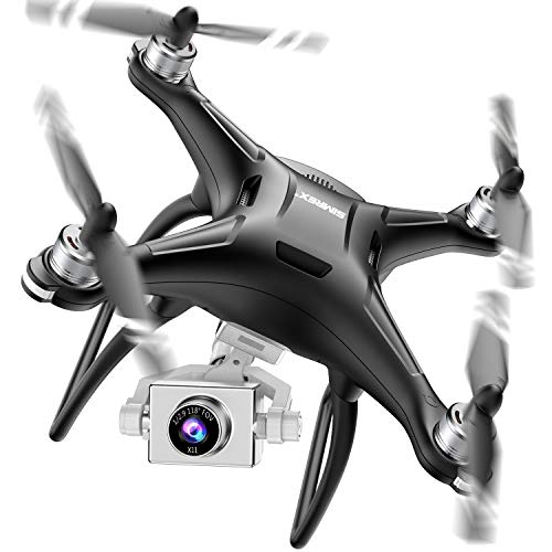 SIMREX X11 Upgraded GPS Drone with 1080P HD Camera 2-Axis Self stabilizing Gimbal 5G WiFi...