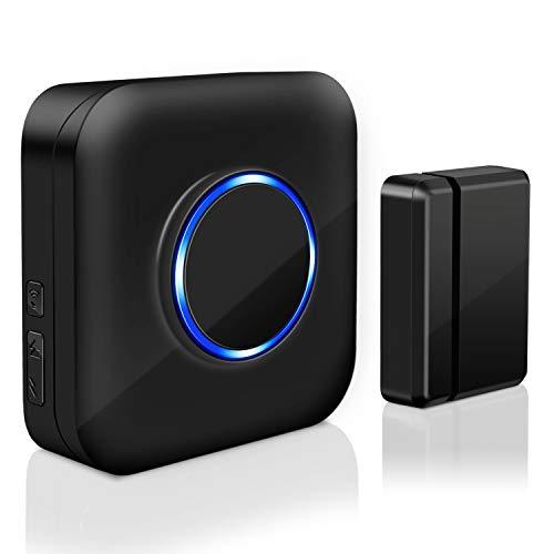 Wireless Door Sensor Chime BITIWEND Door Bell for Office/Home/Store,Door Open Chime Window...