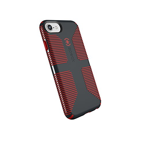 Speck Products CandyShell Grip iPhone SE 2020 Case/iPhone 8/7/6S/6 - Charcoal Grey/Dark...
