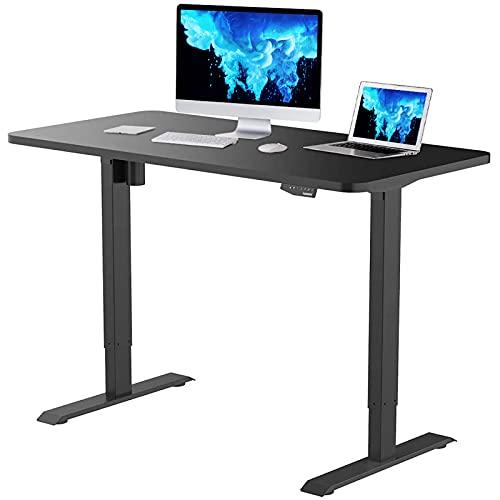 Flexispot EN1 Height Adjustable Desk Black Standing Desk Sit Stand Up Desk with Memory...