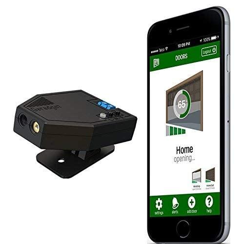 Garadget WiFi Smart Garage Door Controller - Control Existing Garage Door with Free...