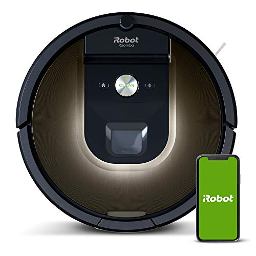 iRobot Roomba 981 Robot Vacuum-Wi-Fi Connected Mapping, Works with Alexa, Ideal for Pet...