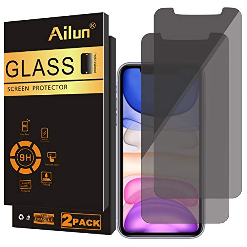 Ailun Privacy Screen Protector Compatible for iPhone 11/iPhone XR 6.1Inch 2 Pack Japanese...