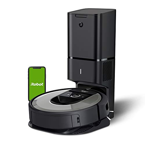 iRobot Roomba i6+ (6550) Robot Vacuum with Automatic Dirt Disposal-Empties Itself, Traps...