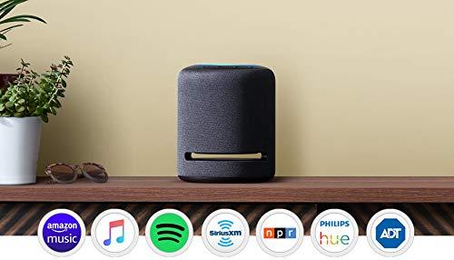 Echo Studio – High-fidelity smart speaker with Philips Hue Bulb – Alexa smart home...