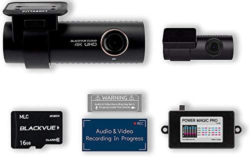 Blackvue DR900S-2CH with 16GB Micro SD Card | Power Magic Pro Hardwiring Kit Included |...