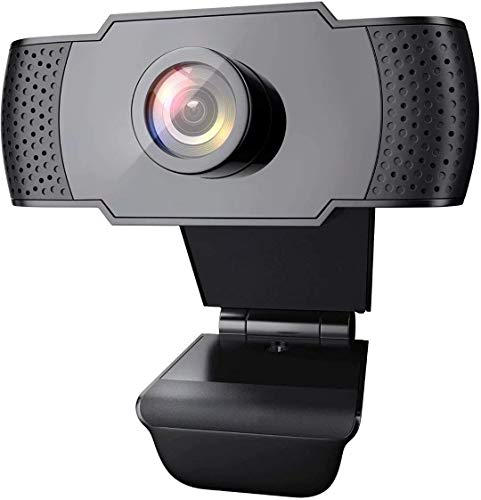 1080P Webcam with Microphone, Wansview USB 2.0 Desktop Laptop Computer Web Camera with...