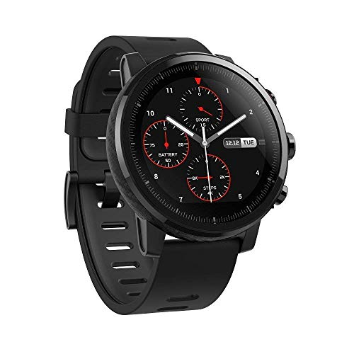 Amazfit Stratos Multisport Smartwatch with VO2max, All-Day Heart Rate and...