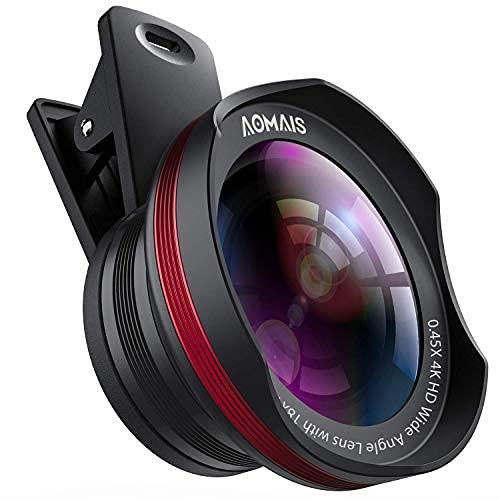 Phone Camera Lens, AOMAIS Pro Camera Lens Kit Compatible with iPhone/Samsung/Google Pixel...