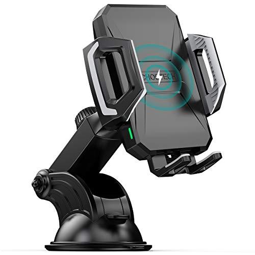 CHOETECH Wireless Car Charger, 10W/7.5W Qi Wireless Fast Charging Car Mount, USB-C...