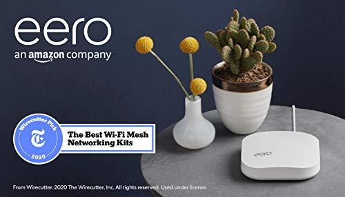 Amazon eero Pro mesh WiFi system (1 Pro + 2 Beacons)