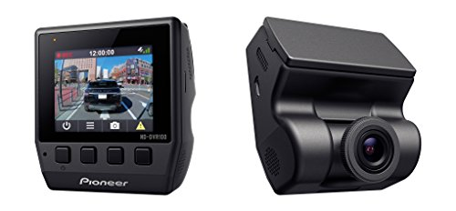 PIONEER ND-DVR100 Low Profile Full 1080P HD Dash Camera with 2-Inch Display, 140°...