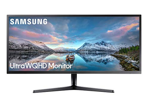 SAMSUNG 34-Inch SJ55W Ultrawide Gaming Monitor (LS34J550WQNXZA) – 75Hz Refresh, WQHD...