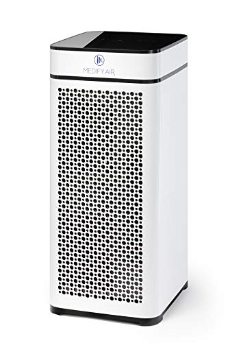 Medify Air MA-40-W V2.0 Air Purifier with H13 HEPA filter - a higher grade of HEPA for 840...